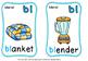 BLENDS FLASH CARDS