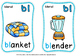 BLENDS FLASH CARDS