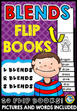 CONSONANT BLENDS ACTIVITIES (FLIP BOOKS)