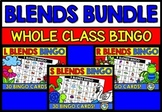 CONSONANT BLENDS ACTIVITIES (PHONICS BINGO GAME BUNDLE) KINDERGARTEN, 1ST GRADE