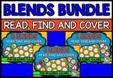 CONSONANT BLENDS GAME BINGO BUNDLE (PHONICS CENTERS KINDER