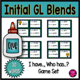 First Grade Reading Games for Word with Initial GL Blends