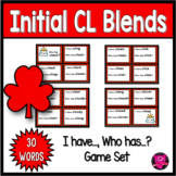 Blends CL Beginning Words with Initial CL Blend Games