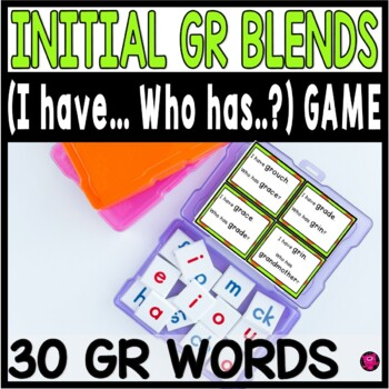 GR Initial Blends Game