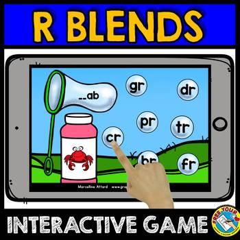 BLENDS DIGITAL TASK CARDS (BLENDS ACTIVITIES BOOM CARDS)BLENDS INTERACTIVE GAMES