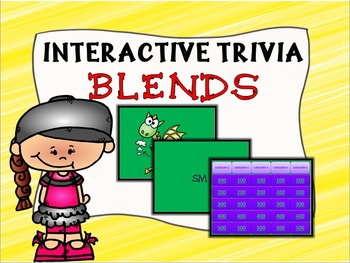Interactive Blends Trivia Game