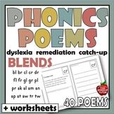 CONSONANT BLENDS POEMS PHONICS POETRY DIGRAPHS 40 Poems Em