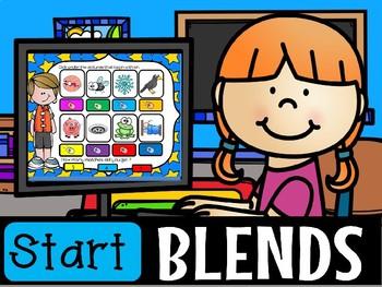 BLENDS POWERPOINT GAME(flash freebie)