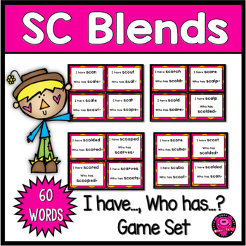 SC Initial Blends Reading Activities