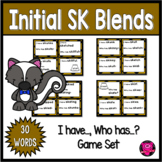 Reading Game for Initial SK Blends