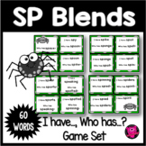 Blends Initial SP Consonant Blend Activities