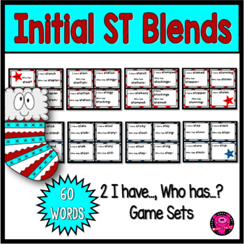 Initial and Ending Blends with ST Whole Group Game Set