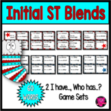 ST Blends Reading Games Set for Beginning Blends with ST