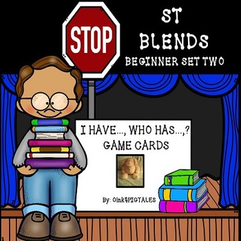 CONSONANT BLENDS WITH INITIAL ST GAMES AND ACTIVITIES FOR