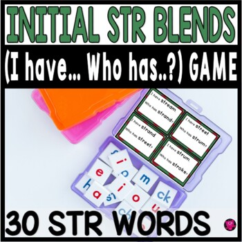 STR Tri Blends Whole Group Games