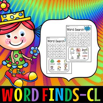 BLENDS WORD SEARCH- cl(FREE- FEEDBACK CHALLENGE)