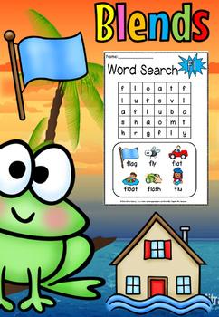 BLENDS WORDSEARCH(FREE- FEEDBACK CHALLENGE)