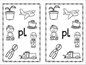 BL,CL,FL,GL,PL,SL Blends NO PREP Printables