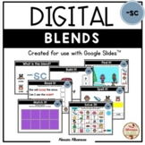 BLENDS {-sc} - DIGITAL Activities (Google Slides™)