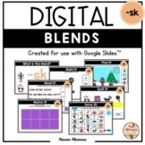 BLENDS {-sk} - DIGITAL Activities (Google Slides™)