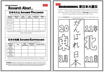 BLMs for Japanese Language, Intercultural & Literacy Activities: Discovering 日本