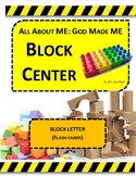 BLOCK LETTER FLASH CARDS (PART OF THE GOD MADE ME UNIT)