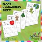 BLOCK Lettering Practice A-Z