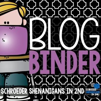 Blogging Binder and TPT seller planner