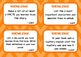 BLOOM'S READING COMPREHENSION QUESTION TASK CARDS Bright R