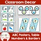BLUE Chevron Ocean Classroom Decor -OVER 100 PAGES OF CLASSROOM ESSENTIALS