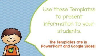 BLUE Editable PowerPoint & Google Slides Templates -Personal & Commercial Use