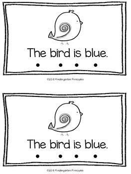 BLUE: Emergent Reader (Common Core Aligned)