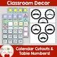 BLUE Chevron Mustache Classroom Decor -OVER 100 PAGES OF CLASSROOM ESSENTIALS