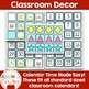 BLUE Polkadot OWL Classroom Decoration -OVER 100 PAGES OF CLASSROOM ESSENTIALS