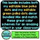 BLUE and GREEN Polka Dots Classroom Decor EDITABLE