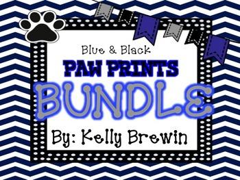 BLUE/BLACK {Paw Print} BUNDLE!!!!