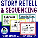 Story Retell & Sequencing - Beginning-Middle-End