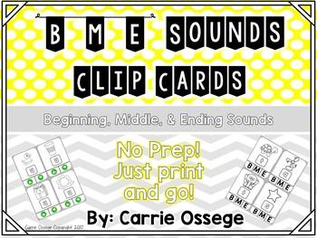 BME Sounds Clip Cards
