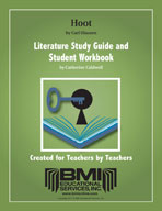 Hoot: Study Guide and Student Workbook (Enhanced eBook)