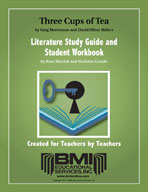 Three Cups of Tea: Study Guide and Student Workbook (Enhanced eBook)