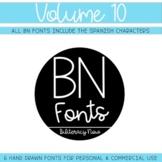 BN Fonts Volume 10