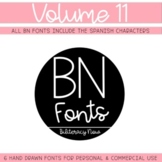 BN Fonts Volume 11