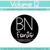 BN Fonts Volume 12