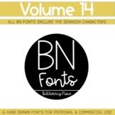 BN Fonts Volume 14