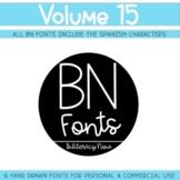 BN Fonts Volume 15