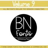 BN Fonts Volume 9