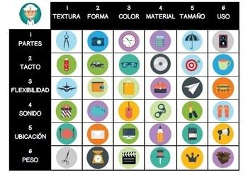 Juegos y actividades para practicar la descripción de objetos en español