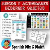 BOAT SINKING OBJECT DESCRIPTION GAME FOR SPANISH CLASS