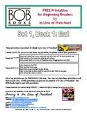 BOB Books Printables for Beginning Readers: Set 1, Book 1 MAT