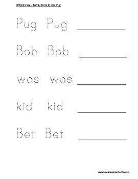BOB Books Set Two Book 2 - Up, Pup